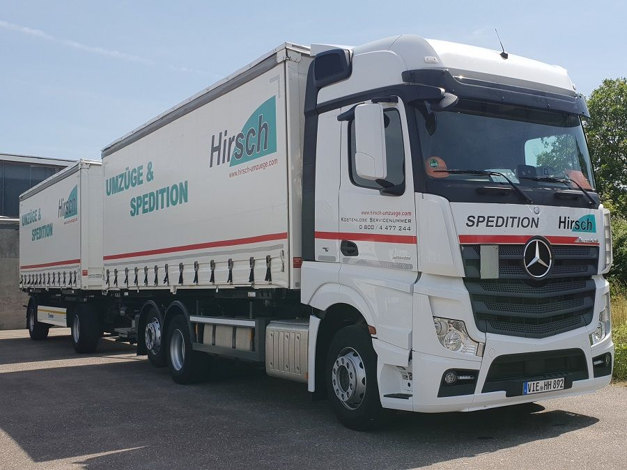 Actros MP4 2545